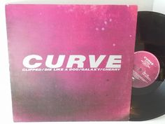 CURVE cherry - SINGLES all genres, Including PICTURE DISCS, DIE-CUT, 7' 10' AND 12'. #LP Heads, #BetterOnVinyl, #Vinyl LP's