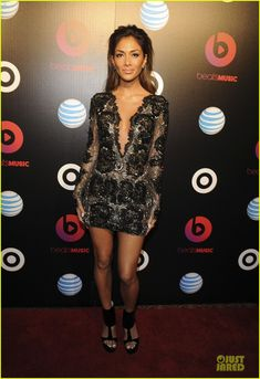 Nicole Scherzinger & Macklemore: Beats Music Launch Party!   2014 Grammys Weekend, Jessica Pare, Macklemore, Nicole Scherzinger Photos   Just Jared