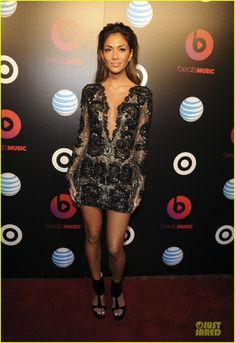 Nicole Scherzinger & Macklemore: Beats Music Launch Party! | 2014 Grammys Weekend, Jessica Pare, Macklemore, Nicole Scherzinger Photos | Just Jared