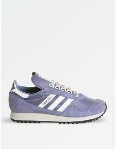 the best attitude 36973 7979e adidas New York mesh and nubuck trainers Trainers, Mesh, Sweatshirt,  Sneakers, Training