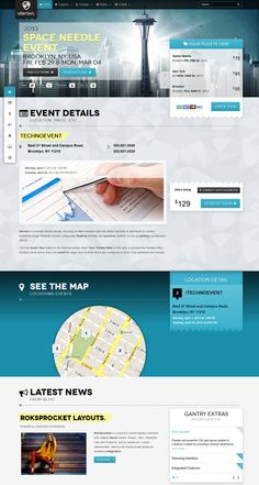 Clarion Magento Template from RocketTheme   Graphic   Pinterest ...
