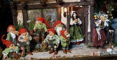 Silke´s Miniatures . Blancanieves y los siete enanitos