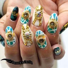 先月のマンスリーGOD4ホワイトバージョン  ご予約は0338105082まで JamboNails .#jambonails #nail #nails #nailart #handdrawing #naildesign #nailartclub  #art #gelnails #Japanesenail #mobu #fashionnails#ネイル #ネイルサロン #ジェル #ジェルネイル #スカルプ #美爪 #美甲 #nailswag  #네일 #젤네일 #네일아트 #instanails #nailstagrams #ноготь #アディダスネイル #summernails by jambonails_mobu