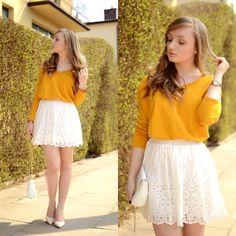 Karolina G. - Yellow blouse | MILDCLOUDS.BLOGSPOT.COM