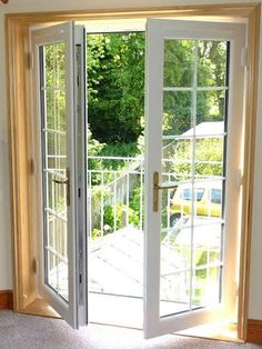 internal view of evolution timber alternative upvc french doors with