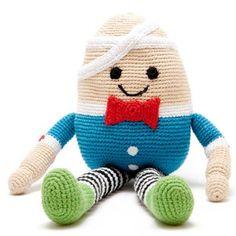 Doll Humpty Dumpty - crocheted