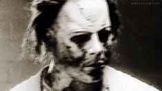 Creepy gif of Rob Zombies Michael Myers Halloween Rob Zombie, Halloween Tumblr, Halloween Film, Halloween Series, Horror Movie Characters, Horror Films, Horror Art, Rob Zombie Michael Myers, Exorcist Movie