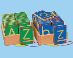 #LakeshoreDreamClassroom : Magnetic Learning Letters