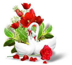 """Photo from album """"Perfume of Love by ELLA"""" on Yandex. Rose Basket, Flower Basket, My Flower, Beautiful Flowers Images, Flower Images, Beautiful Roses, Shri Ganesh Images, Green Screen Video Backgrounds, Good Night Blessings"""