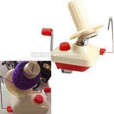 UN3F Neu Wollwickler Wollewickler Garnwinder Kreuzwickler Knitting Wool Winder in Möbel & Wohnen, Hobby & Künstlerbedarf, Häkeln & Stricken | eBay