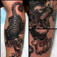 Tiger tattoo on Pinterest | Adam Levine Tattoos, Tiger ...