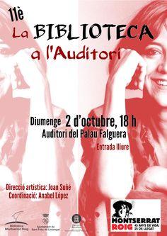 11è la Biblioteca a l'Auditori. 25è aniversari de la mort de Montserrat Roig.