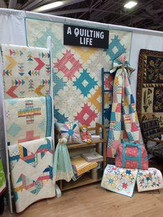 Love the chevron quilt!