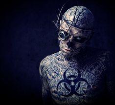 *...zombie boy steampunk style...*