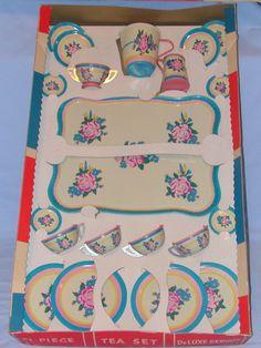 Vintage Ohio Art Tea Set in Original Box | eBay