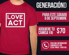 Generación D - Camisa Love Act
