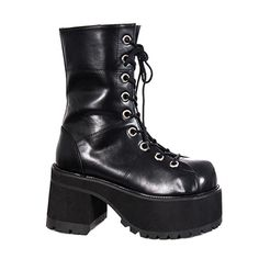 want want want RANGER-301 Platform Combat Boots