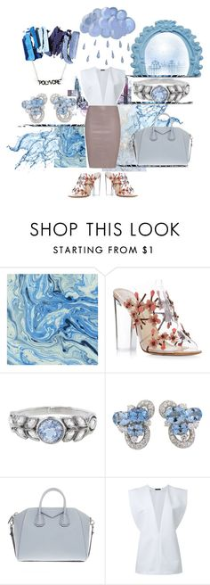 """#PVStyleInsiderContest"" by artwithmode ❤ liked on Polyvore featuring Paul Andrew, Cathy Waterman, Chantecler, Givenchy, Zaid Affas, Jitrois, contestentry, styleinsider and PVStyleInsiderContest"