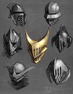 32 ideas for warrior concept art knights artworks Warrior Concept Art, Robot Concept Art, Weapon Concept Art, Armor Concept, Game Concept Art, Fantasy Armor, Fantasy Weapons, Medieval Fantasy, Fantasy Character Design
