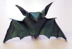 Step by Step Origami Bat Instructions