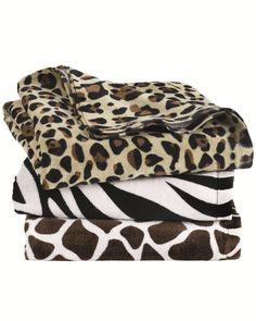 Go to the beach with a nice mood? Bring the Carmel Towel Company - Animal Print Velour Beach Towel - 3060A with you.