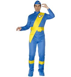Mens Thunderbirds Virgil Fancy Dress Costume For that real retro X-factor, why not deck yourself out in this spiffingly awesome Thunderbirds Virgil outfit and make like youre living it up on your very own Tracy Island! http://www.MightGet.com/february-2017-3/mens-thunderbirds-virgil-fancy-dress-costume.asp