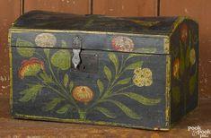 The Ruth Bryson Collection, Quarryville, PA Painting Antique Furniture, Antique Paint, Antique Decor, Hand Painted Furniture, Paint Furniture, Antique Lace, Painted Trunk, Painted Chest, Painted Boxes