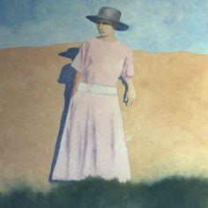 illustration of Eastern Montana Rimrocks, depression era