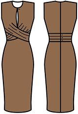 Resultado de imagen de моделирование лифа платья