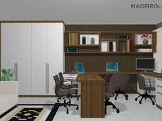 Resultado de imagem para escritorios planejados em casa