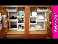[VIDEO]: Bathroom Organization from http://www.alejandra.tv