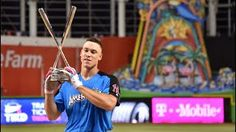 AARON JUDGE WINS THE 2017 MLB HOME RUN DERBY