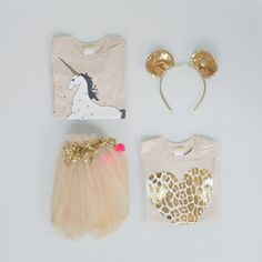 unicorns, sequins and tulle for that lucky girl. orfeodesign #estella #gifts #kids