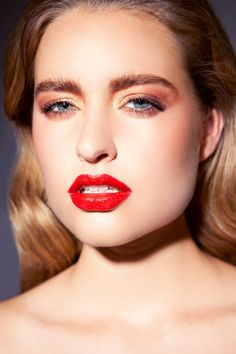 `Colour me Beauty` beauty editorial photographed by Kim Buckard for Fashionising