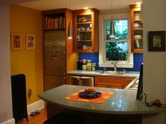 Tanya's Compact, Glowing Kitchen — Small Cool Kitchens 2011 = 62 sq ft