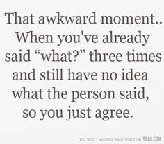 way too often.