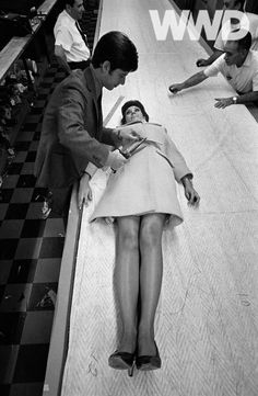 Calvin Klein tweaks a look with surgical precision, 1967.