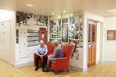 Roker & Mowbray Dementia Care Centre - Projects - Blog - Projects - - Tektura Wallcoverings
