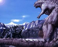 Godzilla V.S. Anguiris