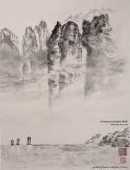 Robert Faure Peinture tchan et Sumi-e Zen, Mount Rushmore, Sumo, Photos, Mountains, Nature, Painting, Travel, Image