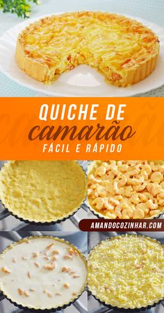 Quiches, Easy Cooking, Cooking Time, Cooking Recipes, Quiche Lorraine, Fun Easy Recipes, Brunch Recipes, Individual Desserts, Desert Recipes