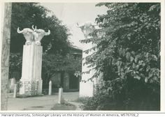Gate to Los Baños Ag.[Agricultural] School from Mary Anglemyer Papers, Schlesinger Library on the History of Women in America, Radcliffe Institute Women In America, Historical Pictures, Manila, Filipino, Old Photos, Philippines, Gate, Cities, The Outsiders