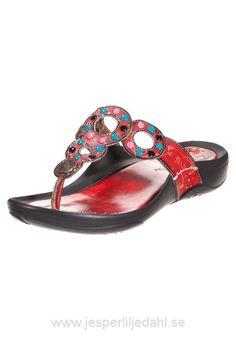 Köp Billiga Laura Vita Sermon - Flip-flops - Rouge - Kvinna Skor Sandaler & Sandaletter Storlek:36,37,38,39,40,41,42,43,44,45 Eu