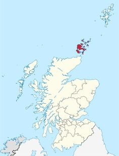 Orkney Islands in Scotland.svg