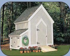 Build a New Storage Shed with One of These 23 Free Plans: Free Garden Shed Plan