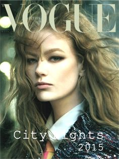 "Preview ""Vogue Italia: Hollie-May Saker by Steven Meisel, January 2015"" 