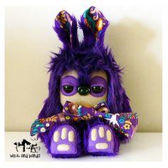 $65 Yetirabbit by Wickandbandit on Handmade Australia