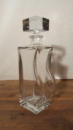 Elegant Mid Century Modern Decanter / Whiskey by HailleysCloset