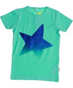 Name It mint green glittery t-shirt for fashion stars. name-it.en.emilea.be