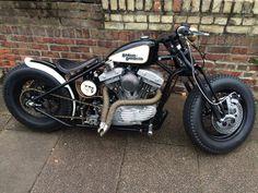 Harley-Davidson Bobber #motorcycles #bobber #motos | caferacerpasion.com Bobber Bikes, Bobber Motorcycle, Motorcycle Style, Harley Davidson Chopper, Harley Davidson Sportster 883, Harley Bobber, Bobber Chopper, Harley Davidson Motorcycles, Scrambler Custom